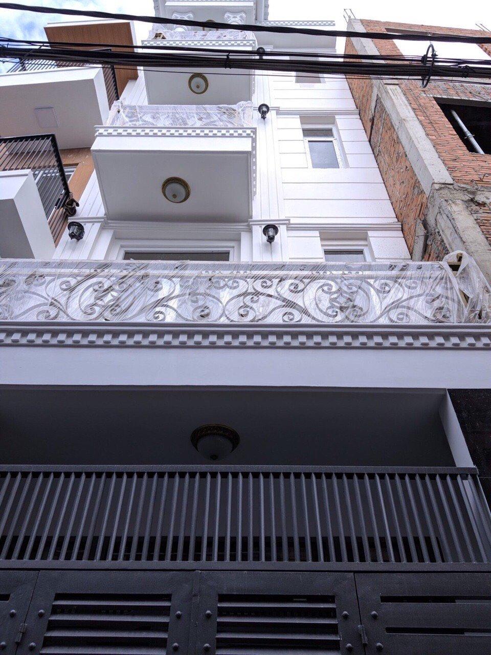 Bán nhà siêu đẹp chuẩn châu âu HXH Quang Trung, tặng nội thất,giá siêu đẹp