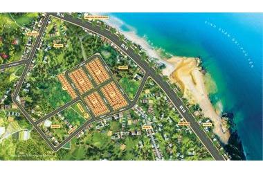 Bán đất nền sổ hồng riêng, KDC dân trí cao sát biển Phú Yên: 100m2 chỉ 569 triệu!