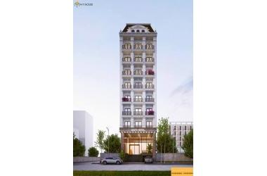 Bán Khách sạn 3* mặt đường Giải Phóng, 143m2 x 9 tầng, thang máy, LH : 0901525008