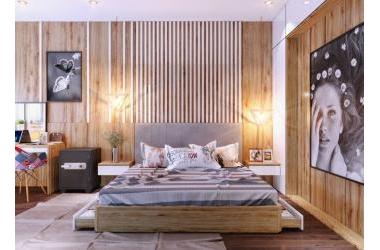 Cho thuê  chung cư 2 ngủ tại chung cư K35 Tân Mai