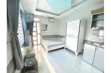 Cho thuê căn hộ mini full nội thất mặt tiền đường Dã Tượng P.10 Quận 8
