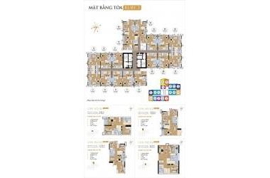 Bán gấp căn hộ CC cao cấp Goldmark tòa R3, 112m2, giá 3 tỷ4
