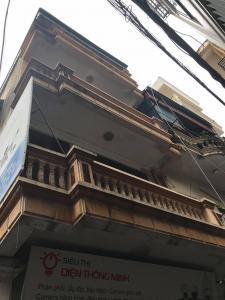 Cho thuê nhà riêng Giải Phóng, Hoàng Mai 55m2x 4 tầng, mặt tiền 4.6m